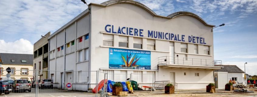 AMOLIA- Réhabilitation de la Glacière municipale à ETEL