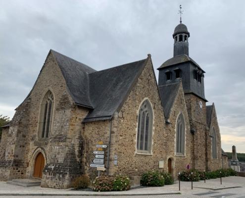 AMOLIA - Eglise Livré la Touche restauration